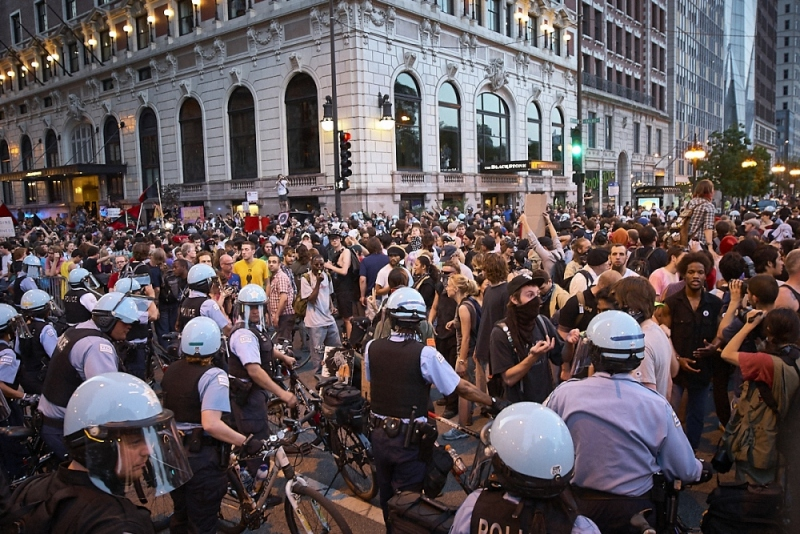 Nagle Photography,Chicago, NATO, protests, street photography